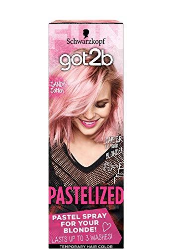 Got2b Color Headturner Temporary Color Spray - Cotton Candy Pink - 4.2floz