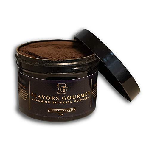 Flavors Gourmet Premium Espresso Powder, 3 oz