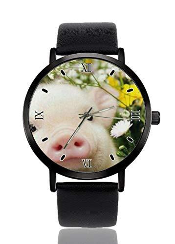 Palfrey - Reloj de pulsera para mujer, unisex, resistente al agua, para hombre