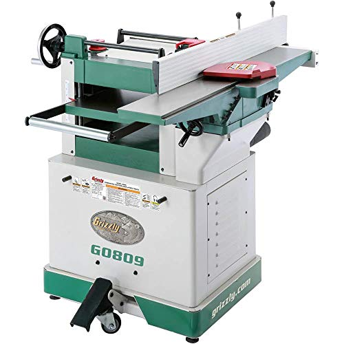 Grizzly Industrial G0809 - Combination Jointer/Planer with Fixed Tables