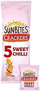 Sunbites Sun Ripened Sweet Chilli Crackers 24g x - 5 per pack (0.26lbs)