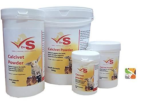 The Birdcare Company 40g Calcivet Calcium Powder - Small Pet Supplement