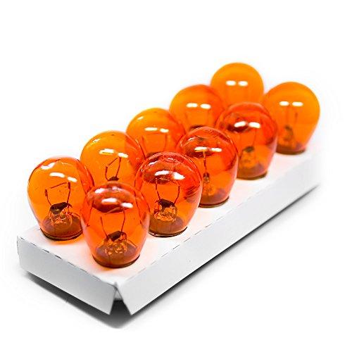 10 x BAU15s S25 PY21W 21W Birne Lampe Blinker Glühbirne Gelb Orange 12V
