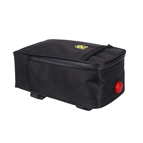 Sunzit Fahrrad-Rückentasche, Mountainbike-Tasche, Fahrradsattel für Rücksitz, Wasserflasche, Werkzeugtasche