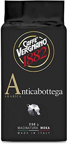 4 KG CAFFE VERGNANO ANTICABOTTEGA MACINATO 100% ARABICA. MOKA GROUND ARABICA 100%