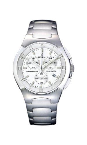 Festina Herren-Armbanduhr XL Sport Chronograph Quarz Edelstahl F6698/1