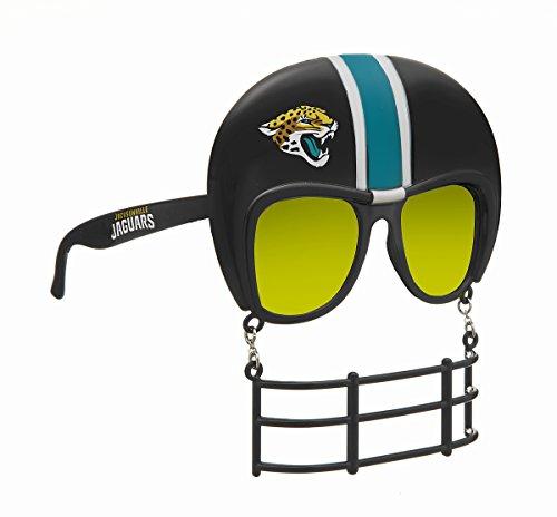 Rico SUN0901 Jaguars Novelty Sonnenbrille, Einheitsgröße, Schwarz