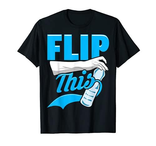 Flip This   Flip Master   Botella de agua Flipping Camiseta