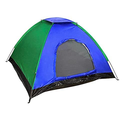 Aktive - Tienda Camping para 4 personas con protección UVA y medidas 200 x 200 x 135 cm (52739)