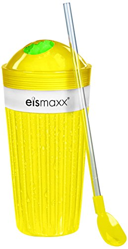 TV Unser Original 02129 eismaxx Slush Ice Becher, gelb