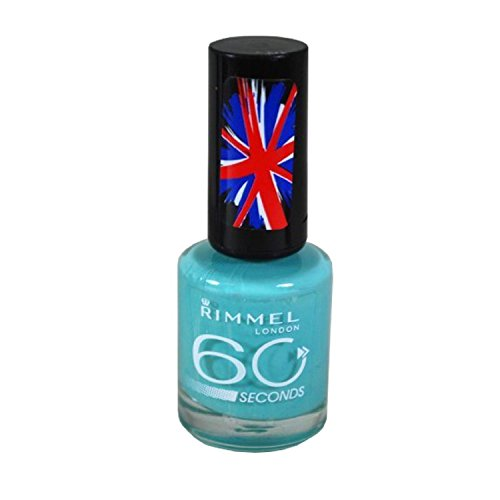 NEW Rimmel 60 seconds One-Coat Nail Polish 210 Mintilicious by Rimmel