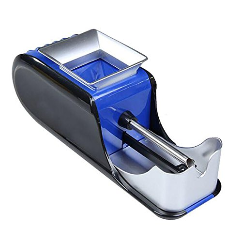 Denshine Máquina de Tabaco Electrica Automático Portátil Accesorios de Cigarrillos para Liar...