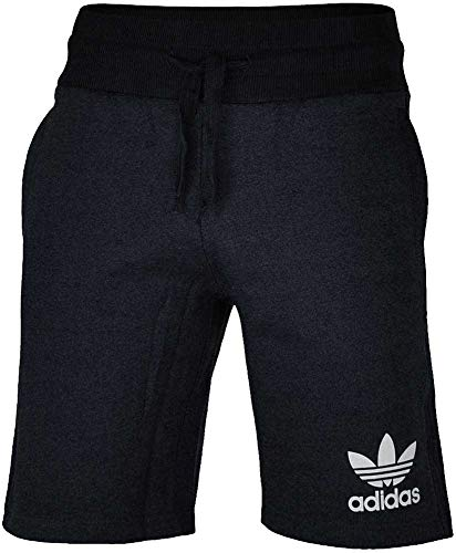 adidas, Pantaloni Corti Uomo Orignals Sport Ess, Nero (Black Melange), L