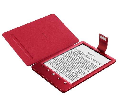 PRSA-CL30 - rot - Cover mit Licht für E-Reader Sony PRS-T3