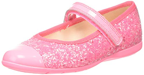 Clarks Dance Tap K, Ballerine Bambina, Rosa (Hot Pink Hot Pink), 29 EU