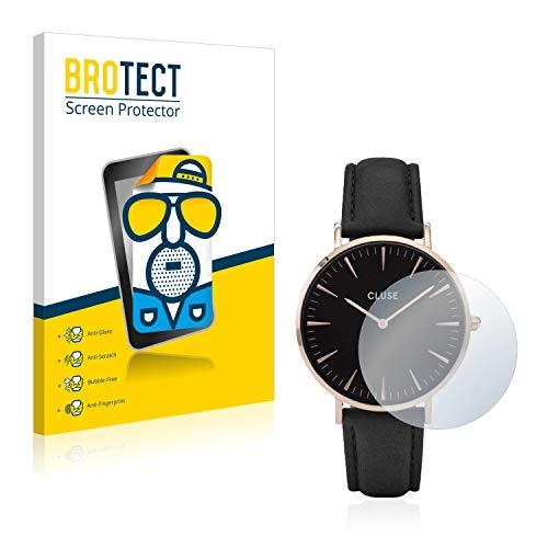BROTECT 2X Entspiegelungs-Schutzfolie kompatibel mit Cluse La Boheme (38 mm) Displayschutz-Folie Matt, Anti-Reflex, Anti-Fingerprint