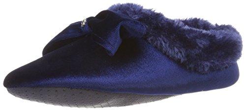 flip*flop Couchy Bow Damen Hausschuhe, Blau (Deep Night 0320), 39 EU