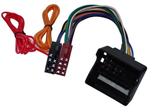 AERZETIX: Adaptador cable enchufe ISO para radio de coche, vehiculos C11158