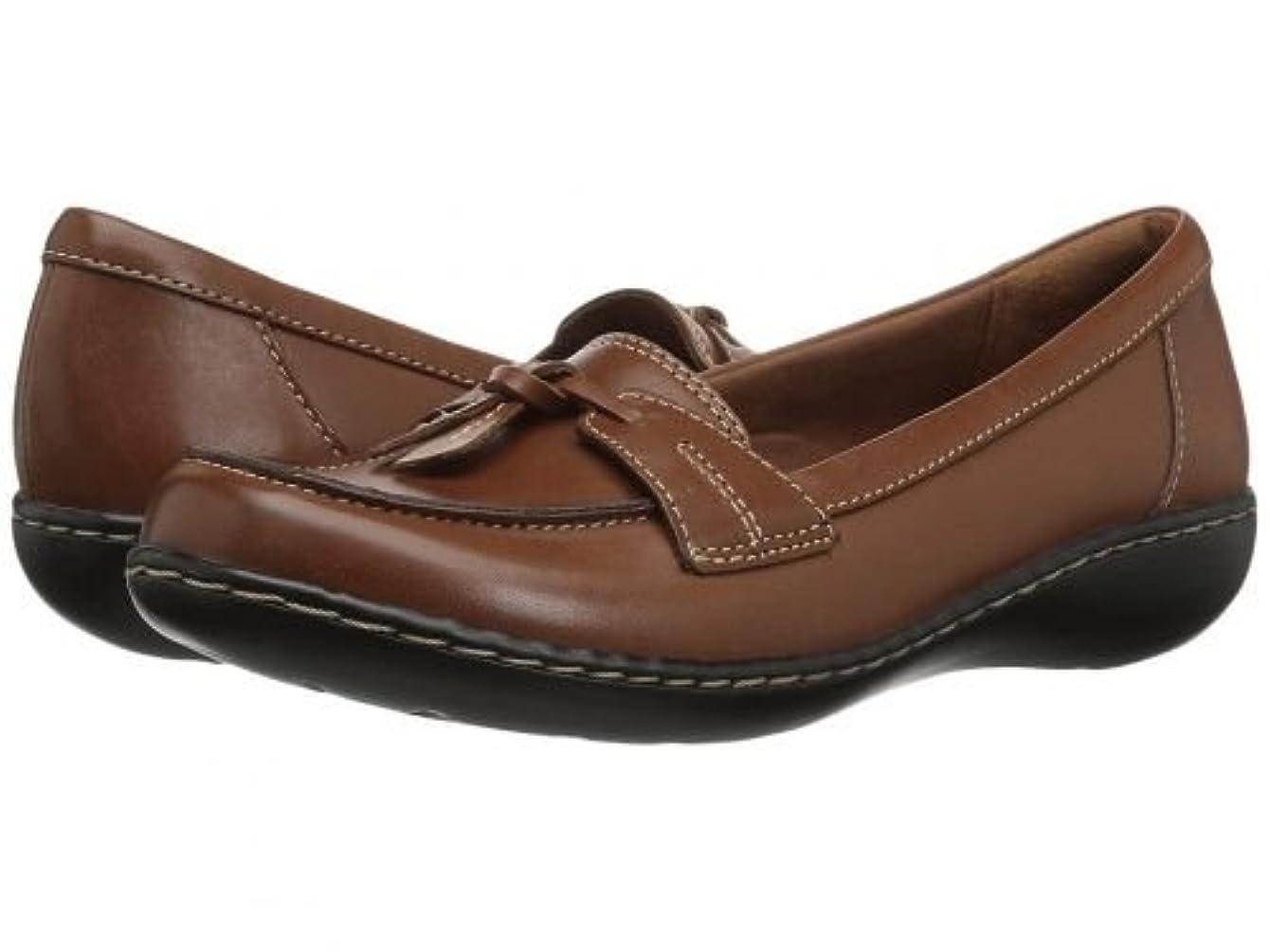 一流大胆な常習的Clarks(クラークス) レディース 女性用 シューズ 靴 ローファー ボートシューズ Ashland Bubble - Tan Leather [並行輸入品]