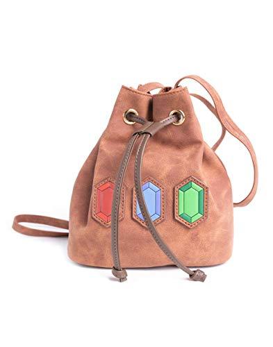 Difuzed Zelda - Little Rupees Bag Braun, Bunt