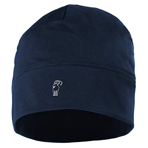 ALPIDEX Berretto Corsa Calcio Sportivo Bici Cappello Running Donna Uomo Skull cap, Colore:Dark Blue