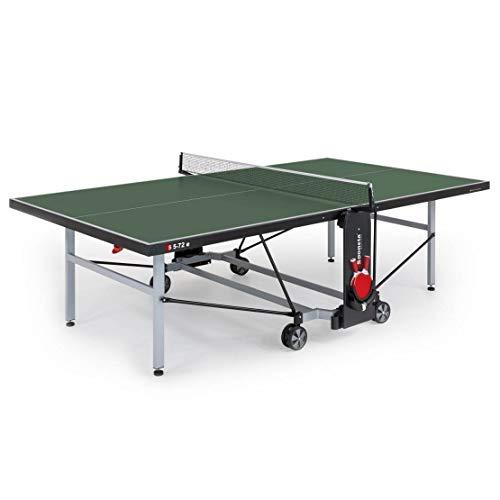 Sponeta Tischtennis S 5-72 E - Mesa de Ping Pong (Outdoor, Resistente a la Intemperie), Color Verde