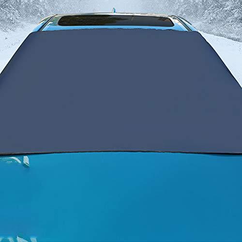 Heerda Autoabdeckung Frontscheibenabdeckung Magnet Autoabdeckung Frontscheibe Magnet Scheibenabdeckung Windschutzscheibe Anti Frost, EIS, Staub, 6,9 * 4,1 ft