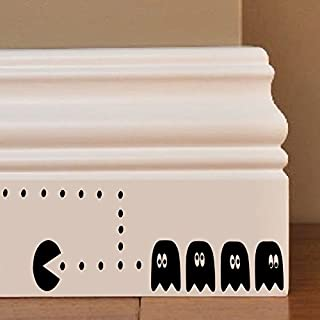 Pacman Ghosts Wandkunst Aufkleber Decal Mice Home Skirting Board Komisch by Inspired Walls®