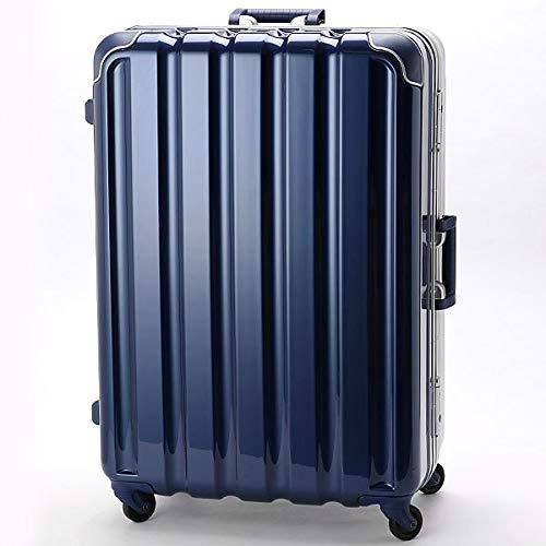シフレ(siffler) スーツケースGREENWORKS93L【メタリックネイビー(MNV)/**】