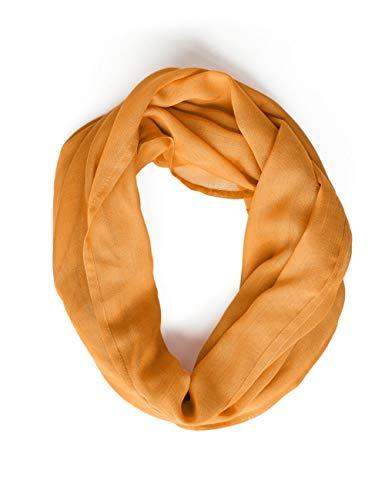 Street One Damen 571259 Loop Mode-Schal, Soft Foxy Caramel, One Size