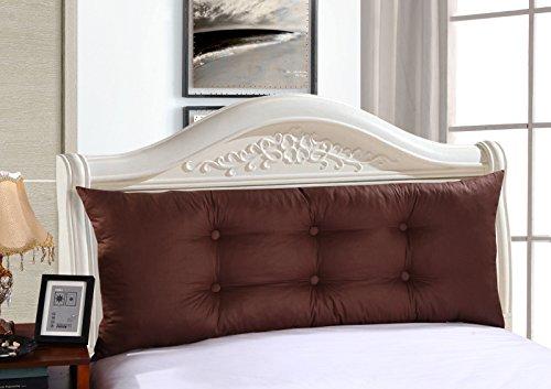 uus Coussin de canapé double coussin de lit de chevet Design de mode moderne Motifs créatifs Ciel confortable Coussin de lit double amovible 195 * 50 * 15-20cm ( Couleur : R )
