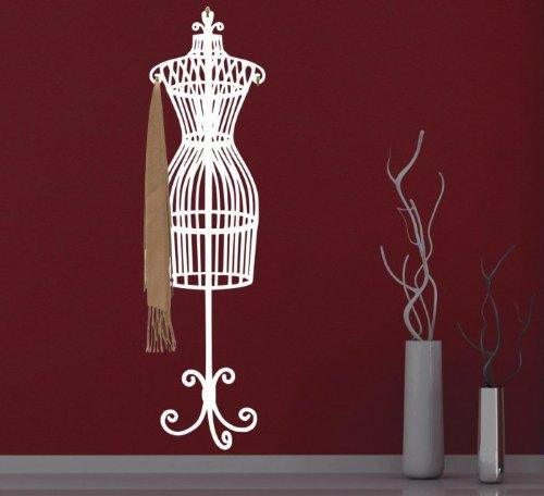 Broomsticker Eleganti Perchas Perchero de Pared, con Forma de maniquí