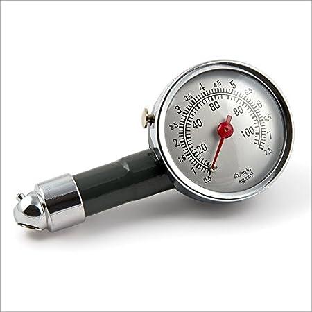 Reifendruckprüfer Metall Luftdruck Prüfer Druckanzeige Reifenluftdruck Prüfer Auto
