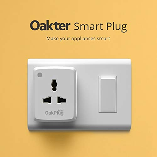Oakter WiFi Smart Plug Combo 6 Amp and 16 Amp Premium Gift Pack (No Hub Required)