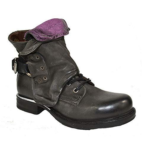 A.S.98 Airstep Damen Leder Stiefelette Stiefel Biker Schuh : 36 Schuhgröße 36