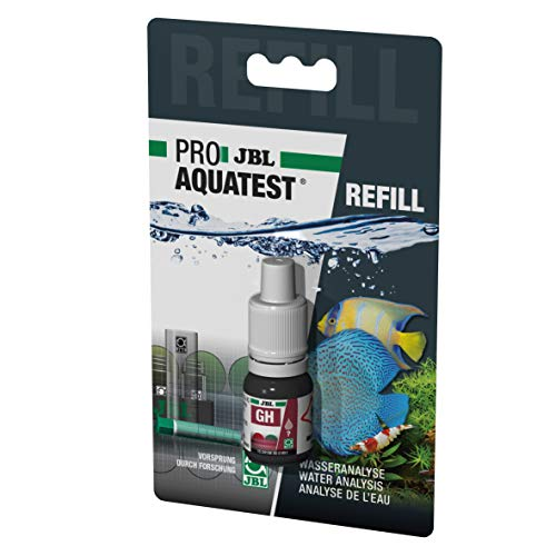 JBL Wassertest-Nachfüller, Für Süßwasser-Aquarien und Teiche, ProAquaTest GH Gesamthärte Refill, 1 Stück