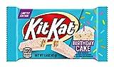 Birthday Cake Kit Kat Bar White Chocolate Limited Edition 4 Pack 1.5 Oz Bars