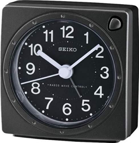 Seiko Funkwecker schwarz Kunststoff QHR201K