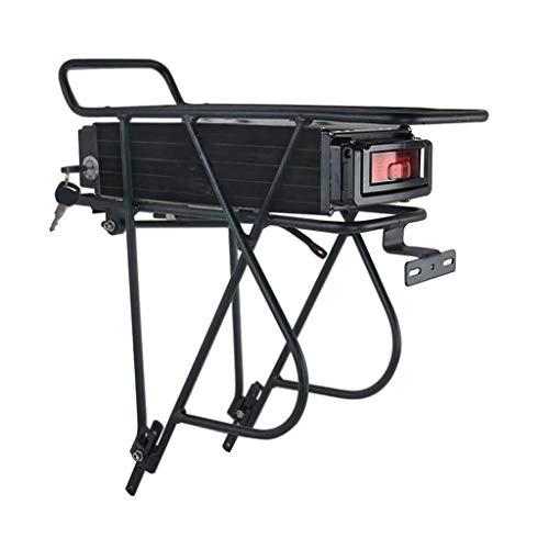 LiRongPing Volt Ebike Batteria 13S7P 48V 24.5AH Potente Posteriore Rack Batteria Biciclette con cella 50A BMS Samsung for 1800W 1500W Motore
