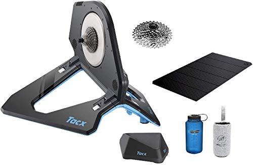 TacX Neo 2T Smart Indoor Bicycle Trainer Bundle (with Cassette Installed) and Nalgene 32oz Bottle...