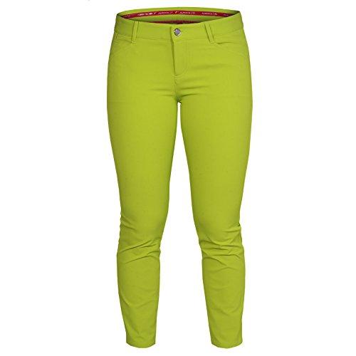 ALBERTO Damen Golfhose Mona 3XDRY Cooler grün Gr. 42