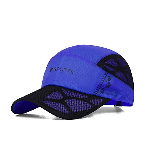 LDHY - Tennis-Sonnenblenden für Herren in Royalblue, Größe adjustable
