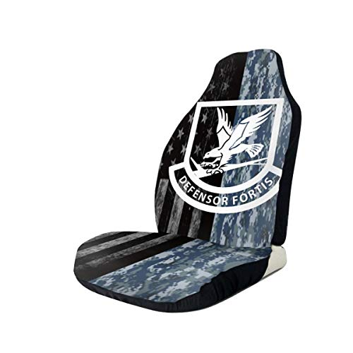 Great Deal! USAF Security Forces Car Seat Covers for Vehicles Universal 3D Printing Car Seat Covers ...