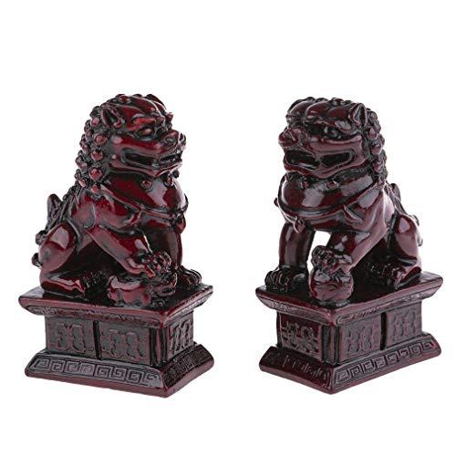 2 Leones FO GARDIENS Feng Shui – Protección, Felicidad y Fortune