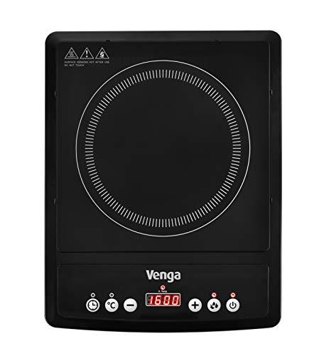 Venga! VG IKP 3000 Plaque à induction portable à 1zone de cuisson, avec contrôle numérique et...