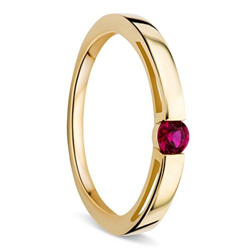 Orovi Mujer oro 375 oro redonda