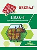 IBO4-Export-Import Procedure & Documentation (IGNOU help book for IBO-4 in English Medium)