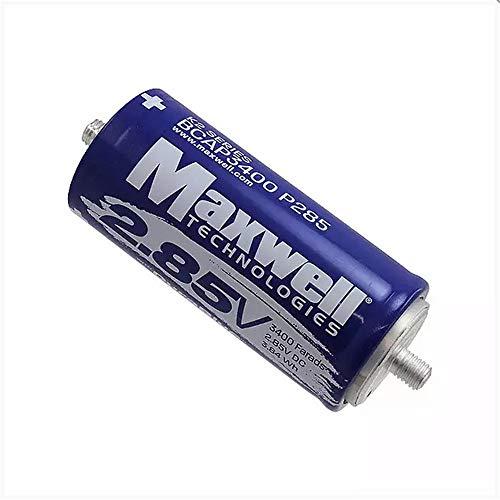 Maxwell DuraBlue car Audio Super Capacitor 2.85V 3400F Graphene Battery Hybrid car Battery Solar Power System (2.85V 3400F×6pcs)