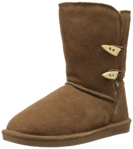 BEARPAW Women's Abigail Winter Boot, Hickory, 9 M US