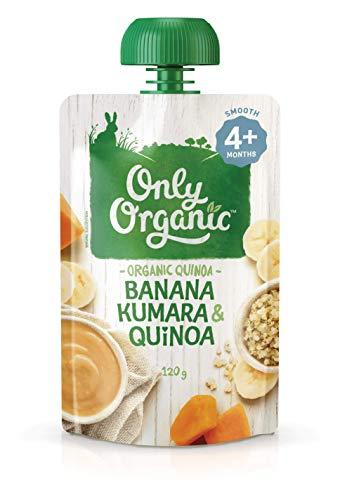 オンリー オーガニック『バナナ、サツマイモとキヌアのお食事』